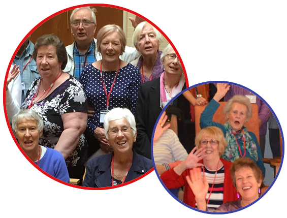 Sing for Better Health Brighton & Hove Groups